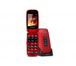 Smartfon / Telefon myPhone Rumba czerwony