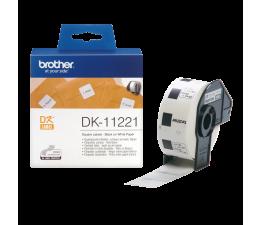 Etykiety do drukarki Brother Etykieta kwadratowa 1000 szt. (DK11221)