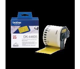 Taśmy do drukarki Brother Taśma ciągła papierowa żółta usuwalna 62mm DK44605