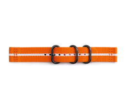 Pasek / bransoletka Samsung Premium Nato Strap do Gear Sport Orange-White