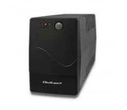 Zasilacz awaryjny (UPS) Qoltec Monolith (1000VA/600W, 2xPL, AVR)