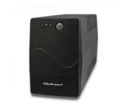 Zasilacz awaryjny (UPS) Qoltec Monolith (850VA/480W, 2xPL, AVR)
