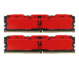 Pamięć RAM DDR4 GOODRAM 16GB (2x8GB) 3000MHz CL16 IRDM X Red