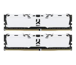 Pamięć RAM DDR4 GOODRAM 16GB (2x8GB) 3000MHz CL16 IRDM X White