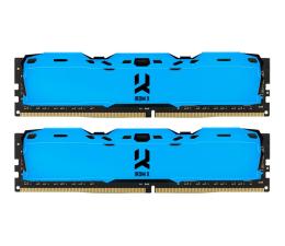 Pamięć RAM DDR4 GOODRAM 16GB 3000MHz IRDM X Blue CL16 (2x8GB)
