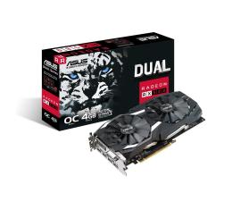 Karta graficzna AMD ASUS Radeon RX 580 Dual OC 4GB GDDR5