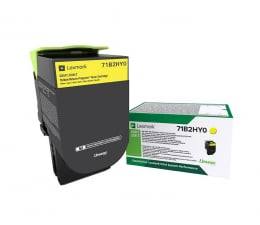 Toner do drukarki Lexmark 71B2HY0 yellow 3500 str.