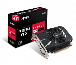 Karta graficzna AMD MSI Radeon RX 560 AERO ITX OC 4GB GDDR5