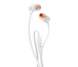 Słuchawki przewodowe JBL T110 Białe