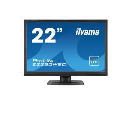 "Monitor LED 22"" iiyama E2280WSD czarny"