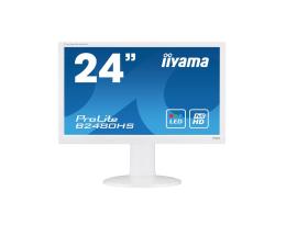 "Monitor LED 24"" iiyama B2480HS biały"