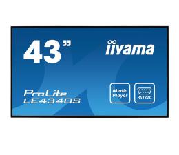 """Monitor LED 32"""" i większy iiyama LE4340S-B1 LFD"""
