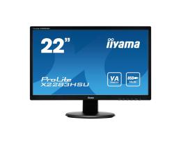 """Monitor LED 22"""" iiyama X2283HSU czarny"""