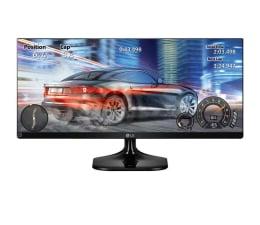 "Monitor LED 24"" LG 25UM58-P czarny"