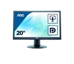 """Monitor LED 21"""" i mniejszy AOC M2060PWQ czarny"""