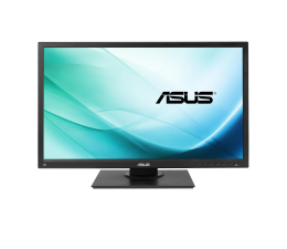 "Monitor LED 24"" ASUS Business BE249QLB czarny + uchwyt Mini-PC"
