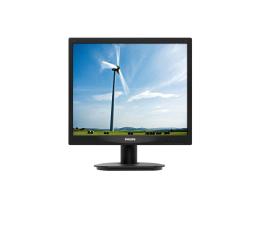 """Monitor LED 21"""" i mniejszy Philips 17S4LSB/00 czarny"""