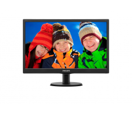 """Monitor LED 21"""" i mniejszy Philips 203V5LSB26/10"""