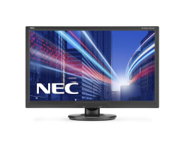"Monitor LED 24"" Nec AccuSync AS242W czarny"