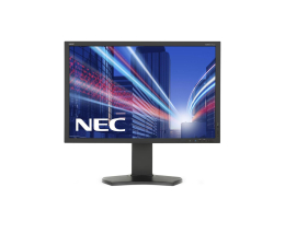 "Monitor LED 24"" Nec MultiSync P242W czarny"