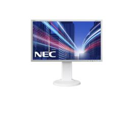 """Monitor LED 24"""" Nec MultiSync E243WMi biały"""