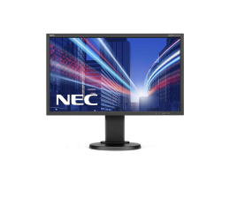 "Monitor LED 24"" Nec MultiSync E243WMi czarny"