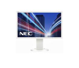 "Monitor LED 22"" Nec MultiSync E224Wi biały"