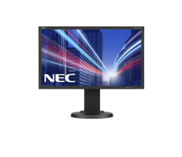 "Monitor LED 22"" Nec MultiSync E224Wi czarny"