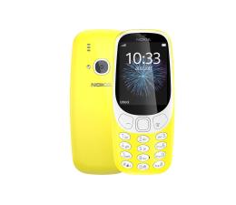 Smartfon / Telefon Nokia 3310 Dual SIM żółty