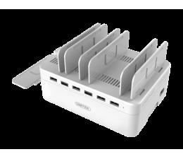 Ładowarka do smartfonów Unitek Stacja ładująca 6 x USB 2,4A 60W
