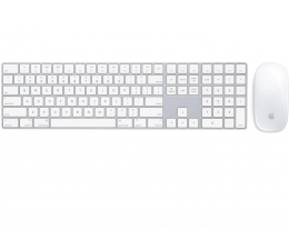 Zestaw klawiatura i mysz Apple Magic Keyboard z Polem Numerycznym + Magic Mouse 2