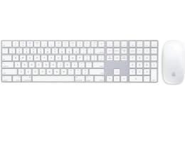 Zestaw klawiatura i mysz Apple Magic Keyboard z Polem Numerycznym + Magic Mouse 2