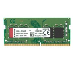 Pamięć RAM SODIMM DDR4 Kingston 16GB (1x16GB) 2666MHz CL19