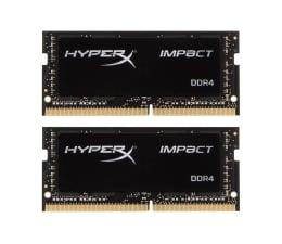 Pamięć RAM SODIMM DDR4 HyperX 32GB (2x16GB) 2666MHz Impact Black CL15 1.2V