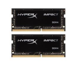 Pamięć RAM SODIMM DDR4 HyperX 16GB (2x8GB) 2666MHz Impact Black CL15 1.2V