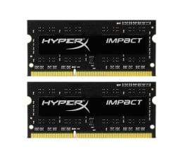 Pamięć RAM SODIMM DDR3 HyperX 8GB 1600MHz Impact Black CL9 1.35V (2x4GB)