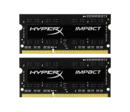 Pamięć RAM SODIMM DDR3 HyperX 8GB (2x4GB) 1600MHz CL9 Impact Black