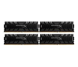 Pamięć RAM DDR4 HyperX 16GB (4x4GB) 3000MHz CL15 Predator Black
