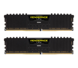 Pamięć RAM DDR4 Corsair 16GB (2x8GB) 3200MHz  CL16 Vengeance LPX Black