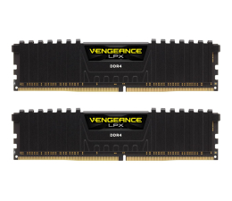 Pamięć RAM DDR4 Corsair 16GB (2x8GB) 2400MHz CL16  Vengeance LPX Black