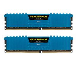 Pamięć RAM DDR4 Corsair 16GB 3000MHz Vengeance LPX Blue CL15 (2x8GB)