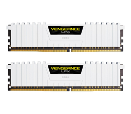 Pamięć RAM DDR4 Corsair 16GB 3000MHz Vengeance LPX White CL15 (2x8GB)
