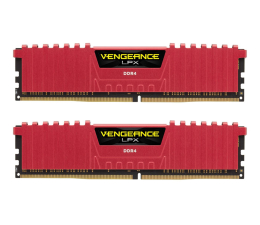Pamięć RAM DDR4 Corsair 16GB 2400MHz Vengeance LPX Red CL14 (2x8GB)