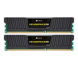 Pamięć RAM DDR3 Corsair 16GB 1600MHz Vengeance LP Black CL10 (2x8GB)