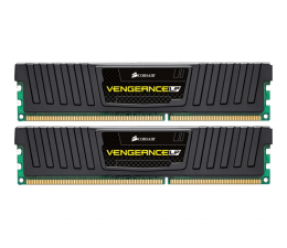 Pamięć RAM DDR3 Corsair 16GB (2x8GB) 1600MHz CL10 Vengeance LP Black