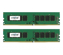 Pamięć RAM DDR4 Crucial 16GB 2400MHz CL17 (2x8192)