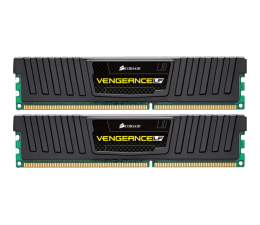Pamięć RAM DDR3 Corsair 8GB 1600MHz Vengeance LP Black CL9 (2x4GB)
