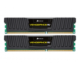Pamięć RAM DDR3 Corsair 8GB (2x4GB) 1600MHz CL9 Vengeance LP Black