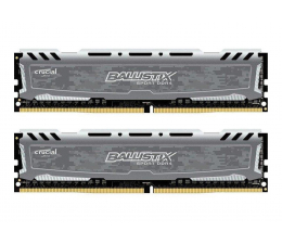 Pamięć RAM DDR4 Crucial 8GB 2400MHz Ballistix Sport LT Gray CL16 (2x4GB)