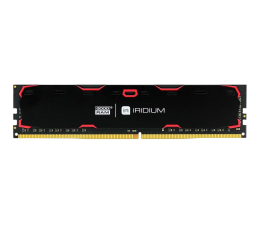 Pamięć RAM DDR4 GOODRAM 8GB (1x8GB) 2400MHz CL15 IRIDIUM Black